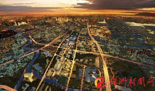 轨道交通城效果图